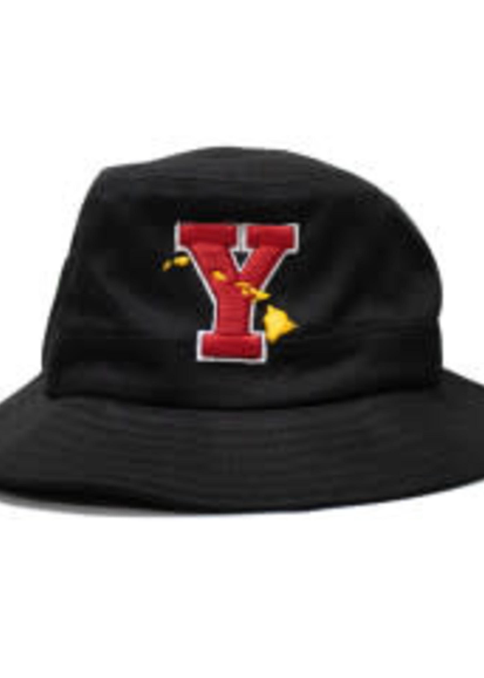 """ZEPHYR Zephyr Bucket Hat """"Y"""" (w/ Islands)"""