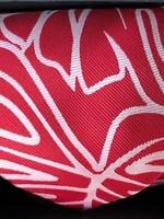 Pineapple Palaka Pineapple Palaka Ties -  Monstera Red/White  Necktie