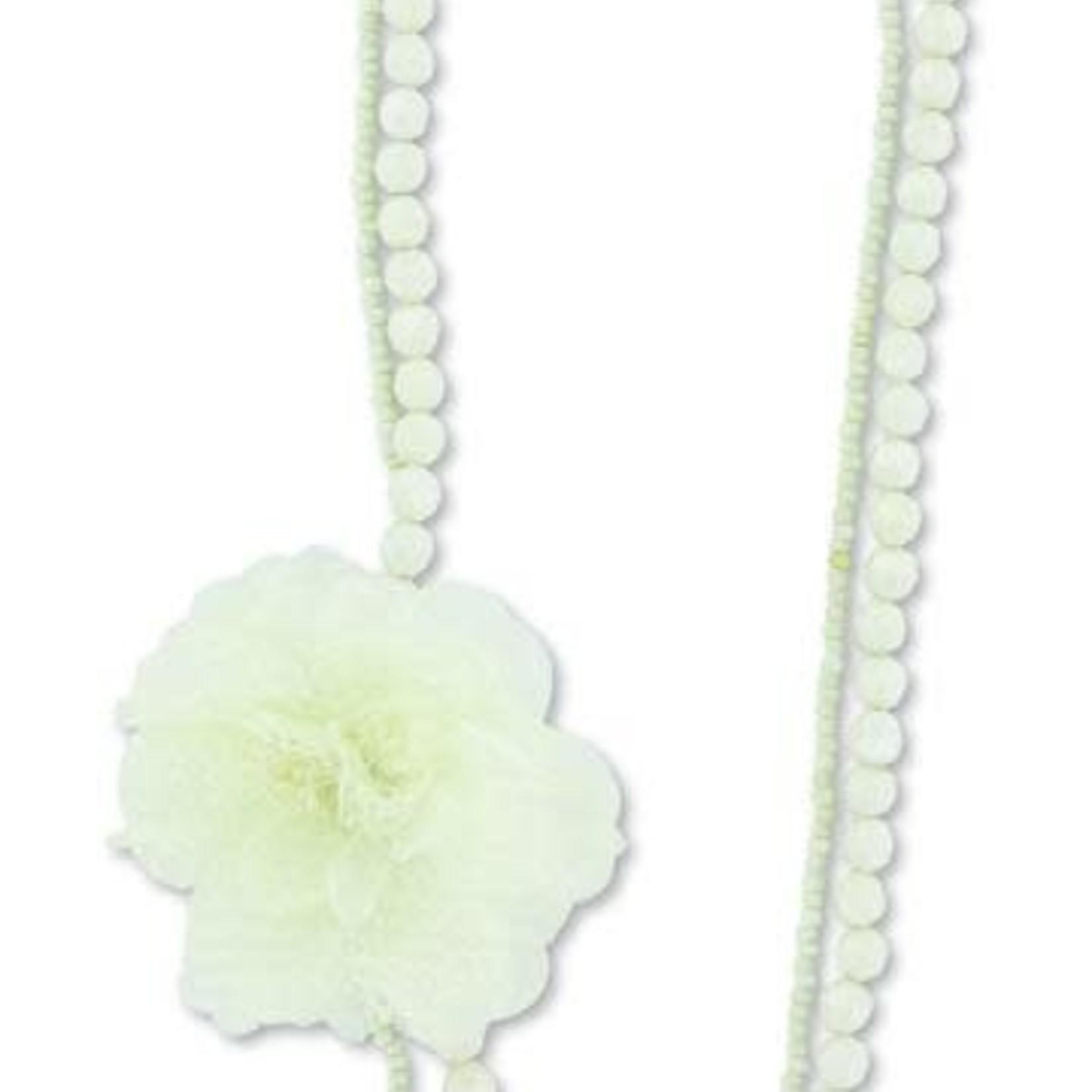 CLR Sage Necklace Pearl Elegance