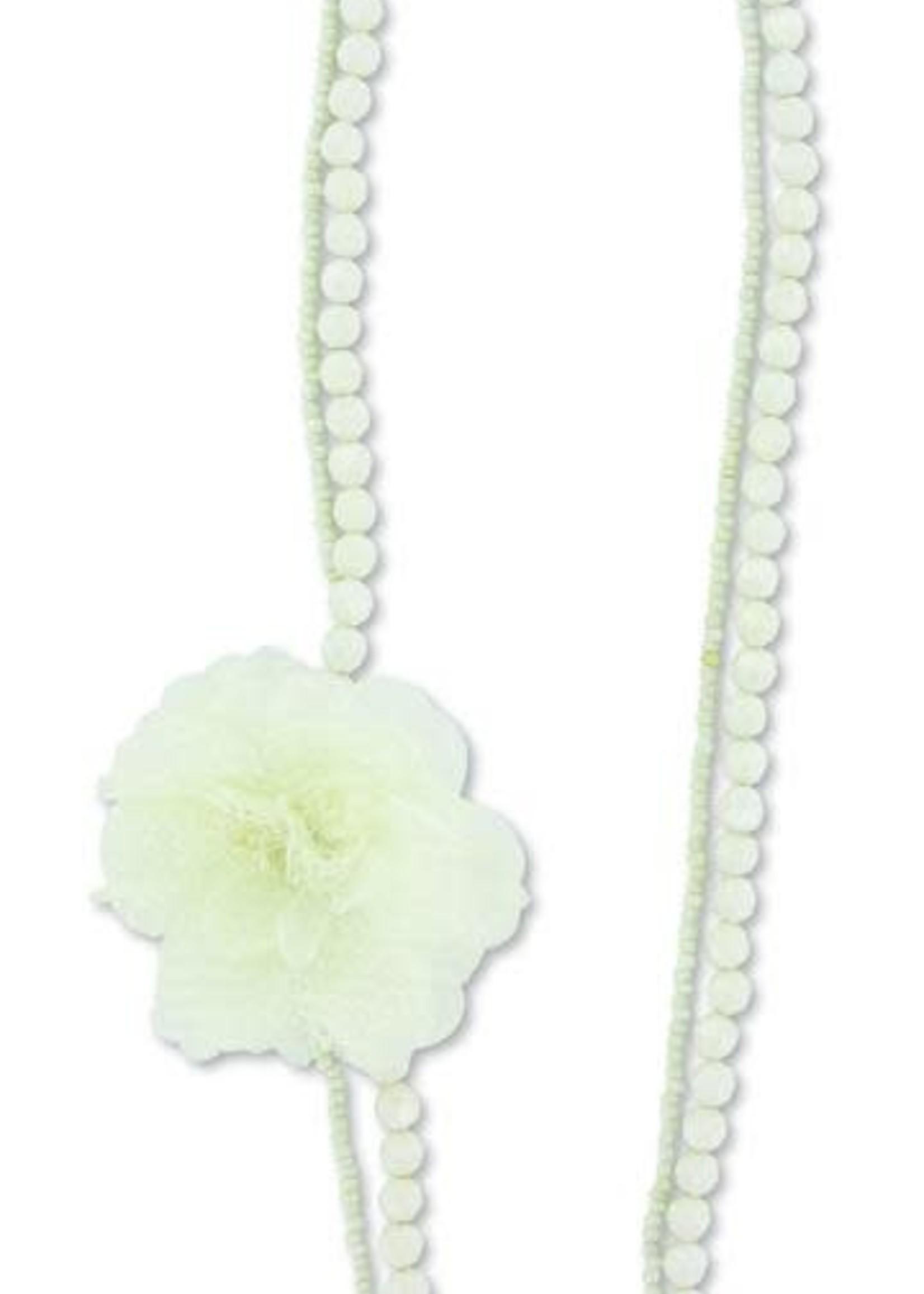 Sage Necklace Pearl Elegance