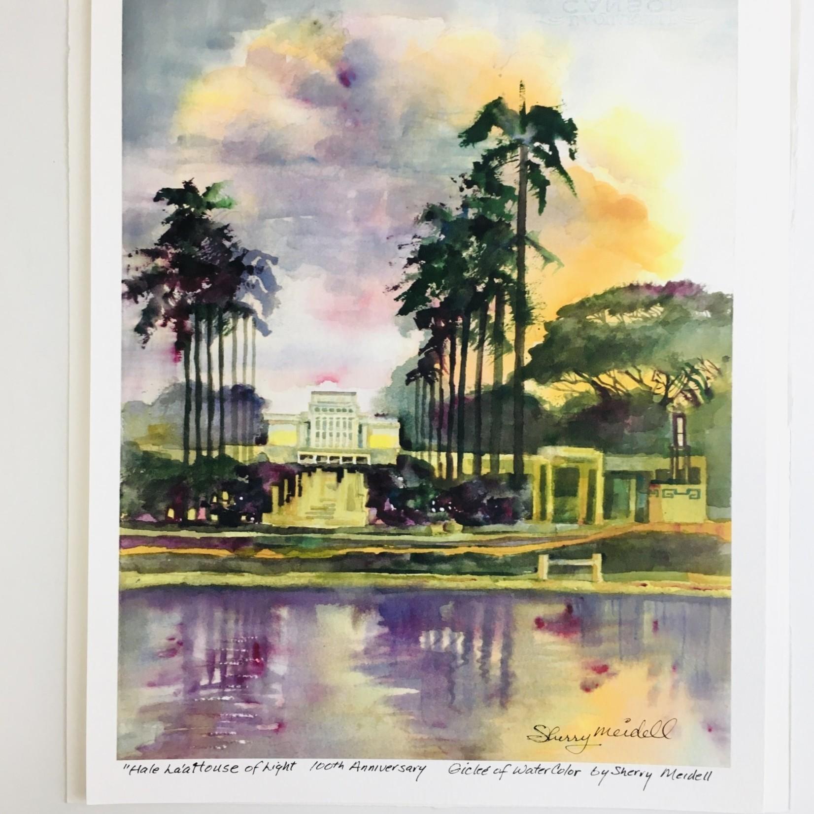 Hale La'a Temple Picture - Sherry Meidell