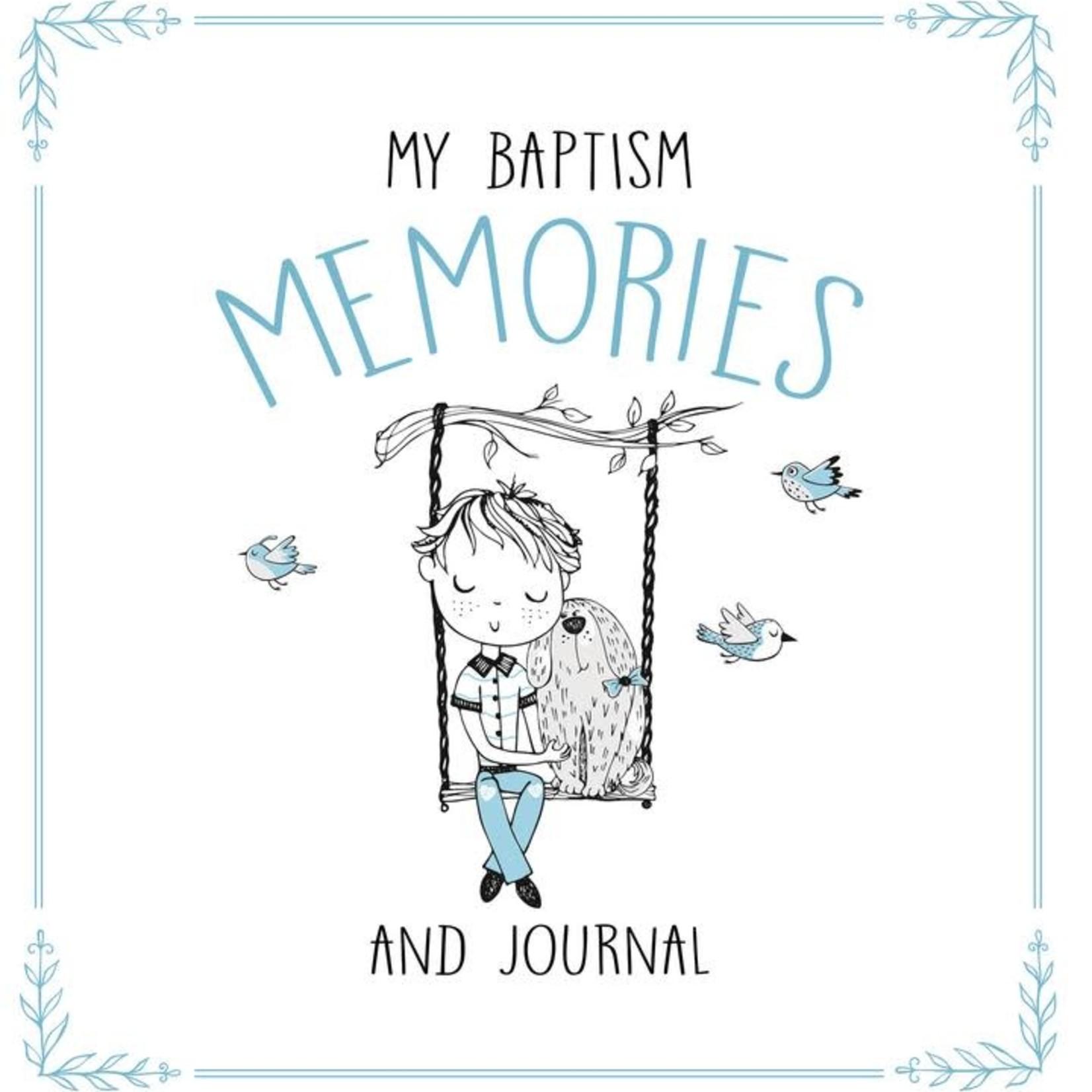 My Baptism Memories & Journal -