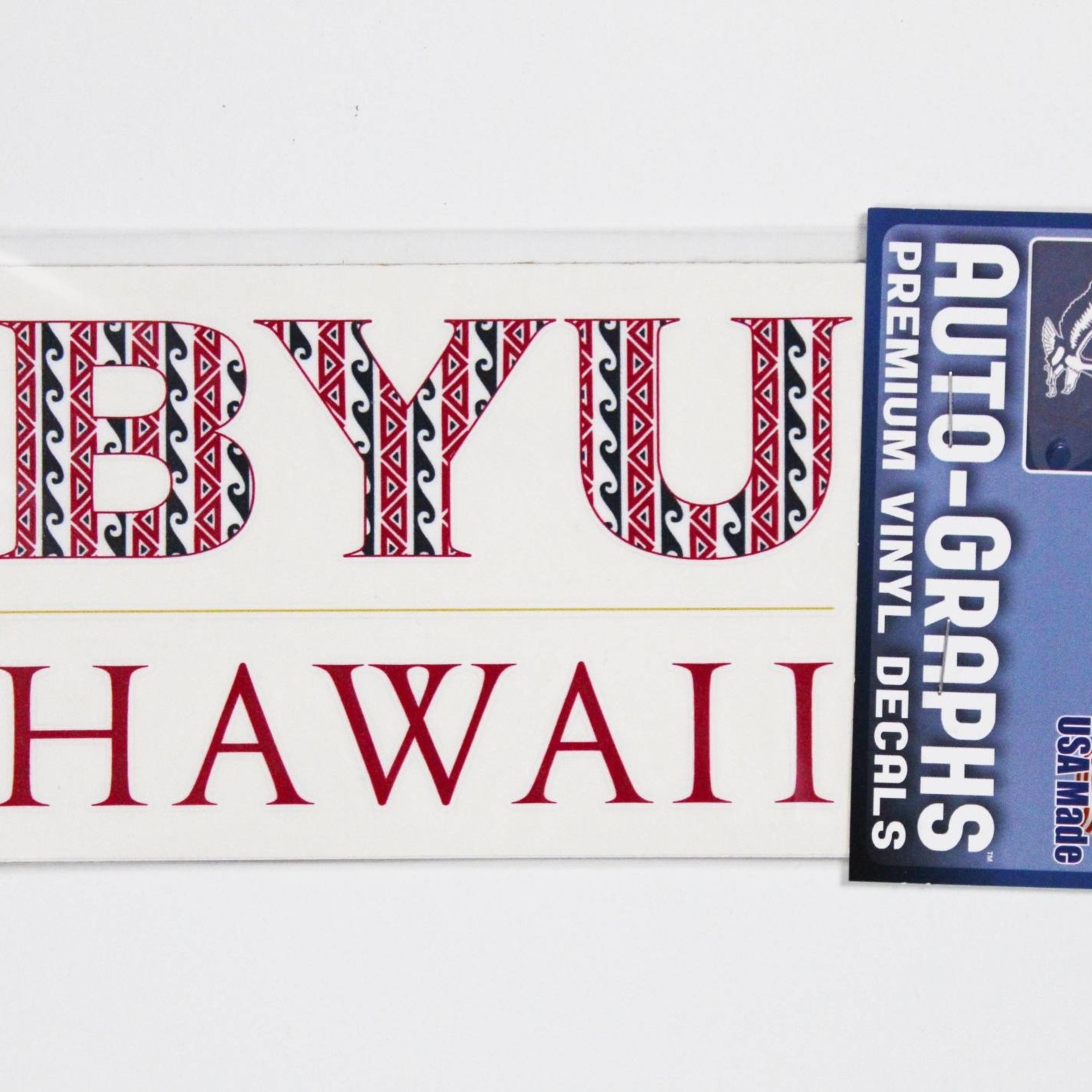 Decals BYUH Large - #4 Tribal Fill