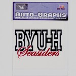 Decals BYUH Large -  #6 W/CURSIVE SEASIDERS