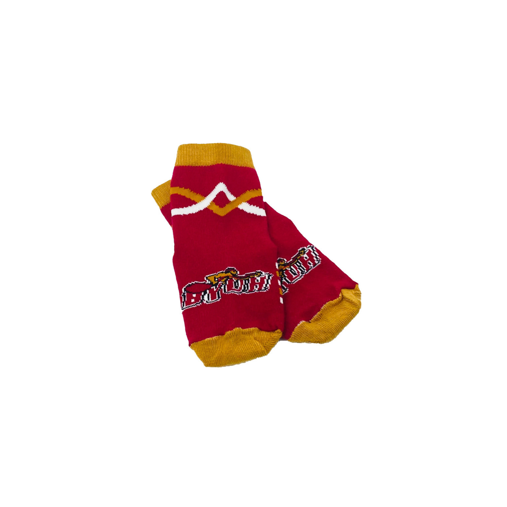 Top Sox BYUH Toddler Red/Gold Sock
