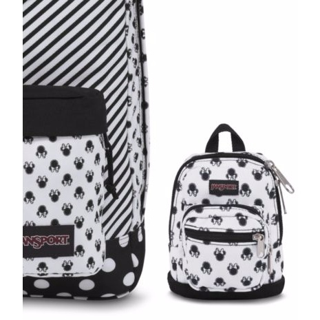 Disney Right Pouch Minne White Bow