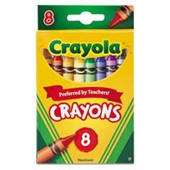 DISC 52-3008CRAYOLA CRAYONS 8CT