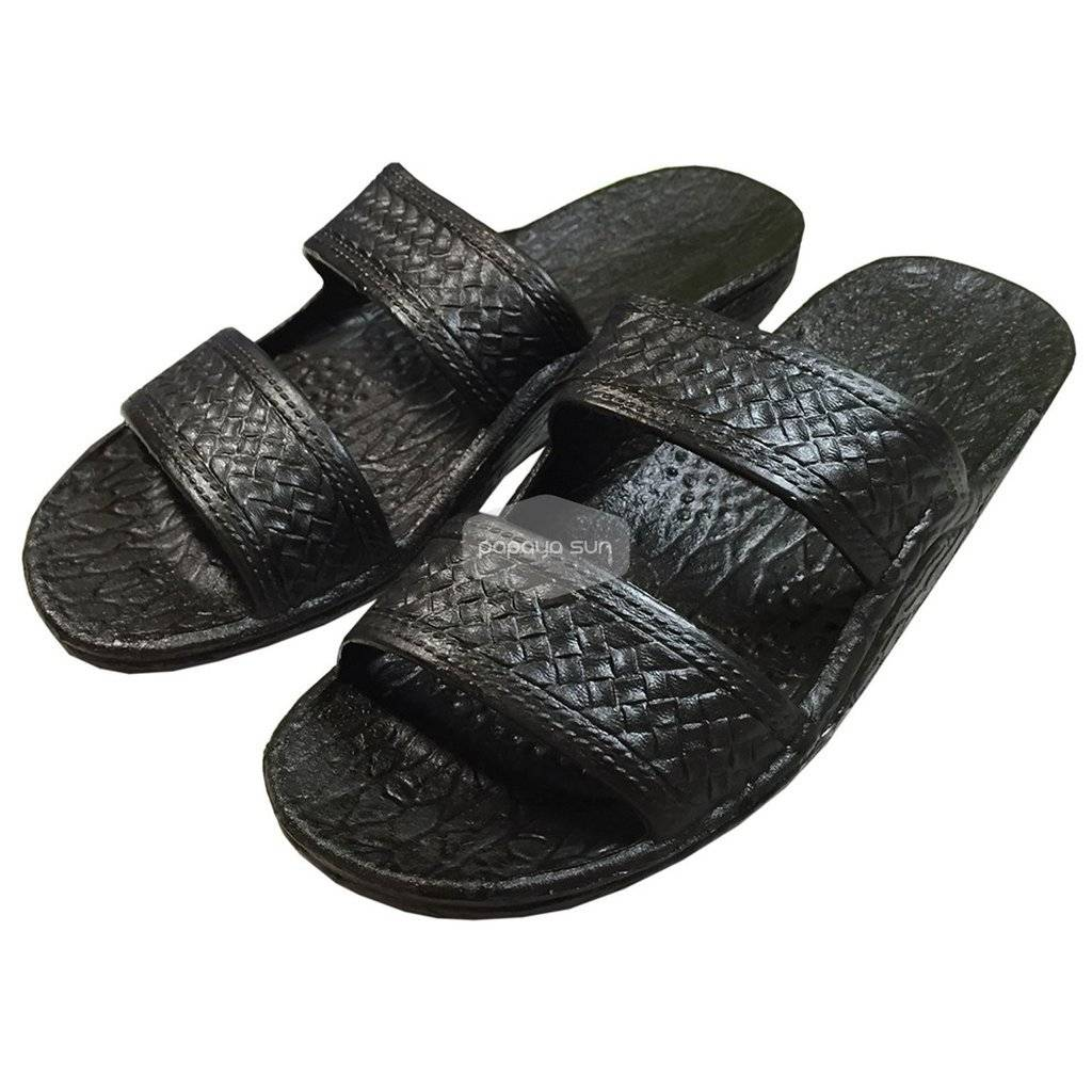 Bible Slippers Black