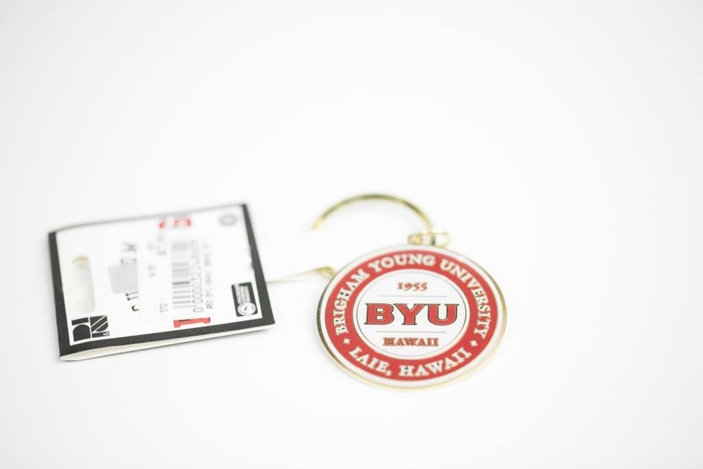 DISC R&D BYU HAWAII BATTALION METAL KEYTAG SEAL