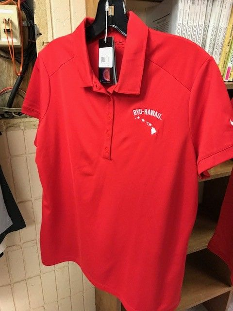 DISC SP17 GW1010-RED VICTORY SOLID POLO Women