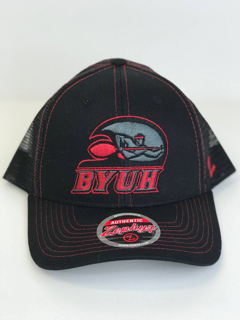 ZEPHYR BYUH Staple Trucker Blackout
