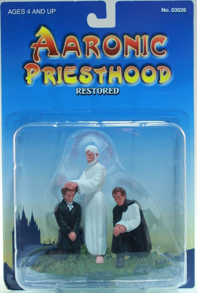 "3"" AARONIC PRIESTHOOD RESTORED"