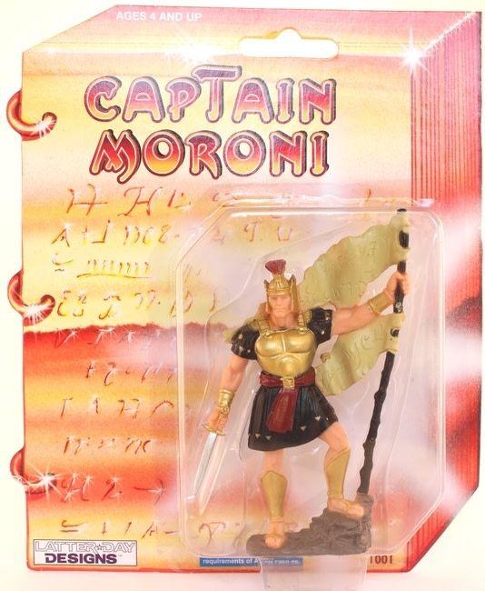 "3"" CAPTAIN MORONI ACTION TOY"