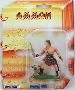 """3"""" AMMON ACTION FIGURE"""