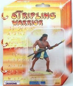 "3"" STRIPlING WARRIOR-BLUE ACTION TOY"