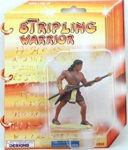 "3"" STRIPLING WARRIOR-RED ACTION TOY"