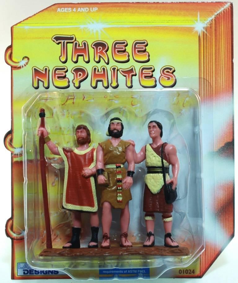 """3"""" THREE NEPHITES FIGURINE"""
