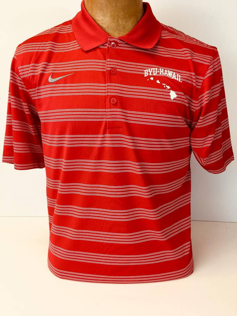 1 Disc Fa16 M51299 Game Time Polo Nike Stripe Men Brigham Young