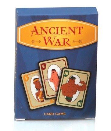 DISC CARD GAME ANCIENT WAR