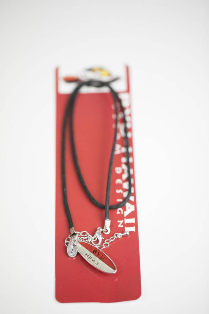 BYUH SURFBOARD NECKLACE