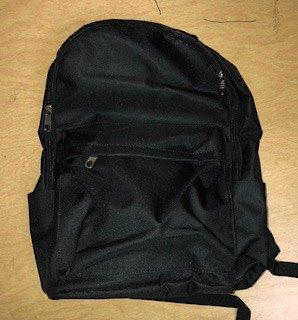 Black Locking Business Backpack