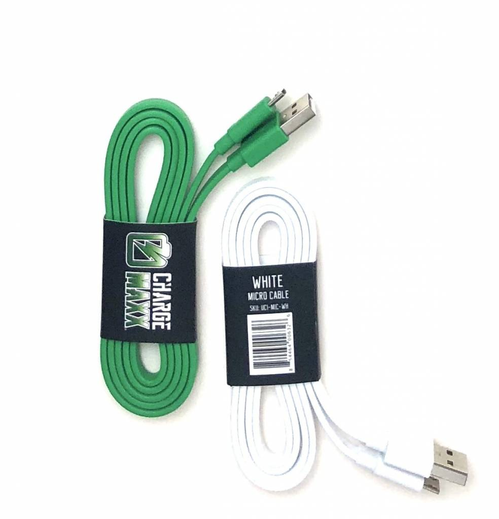 CHARGE MAXX Android/Micro USB Cable Asst (BULK)