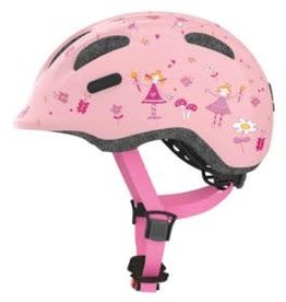 Abus, Smiley, Helmet, Rose Princess, Small 45-50cm