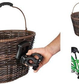 ST. Lawrence Basket Deluxe -Wicker QR