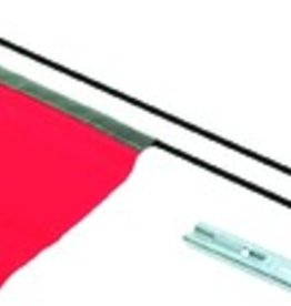 49N Safety Flag Red 172210-01