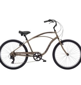 Electra Cruiser 7D Mens Matte Bark - 2019