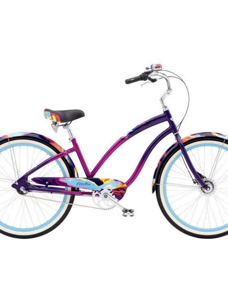 Electra Cruiser 3i Page Purple - 2019 Special Edition