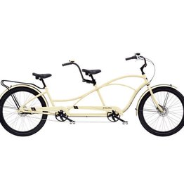 Electra Modern DLX Tandem 7i Matte Cream - 2019 Limited Edition