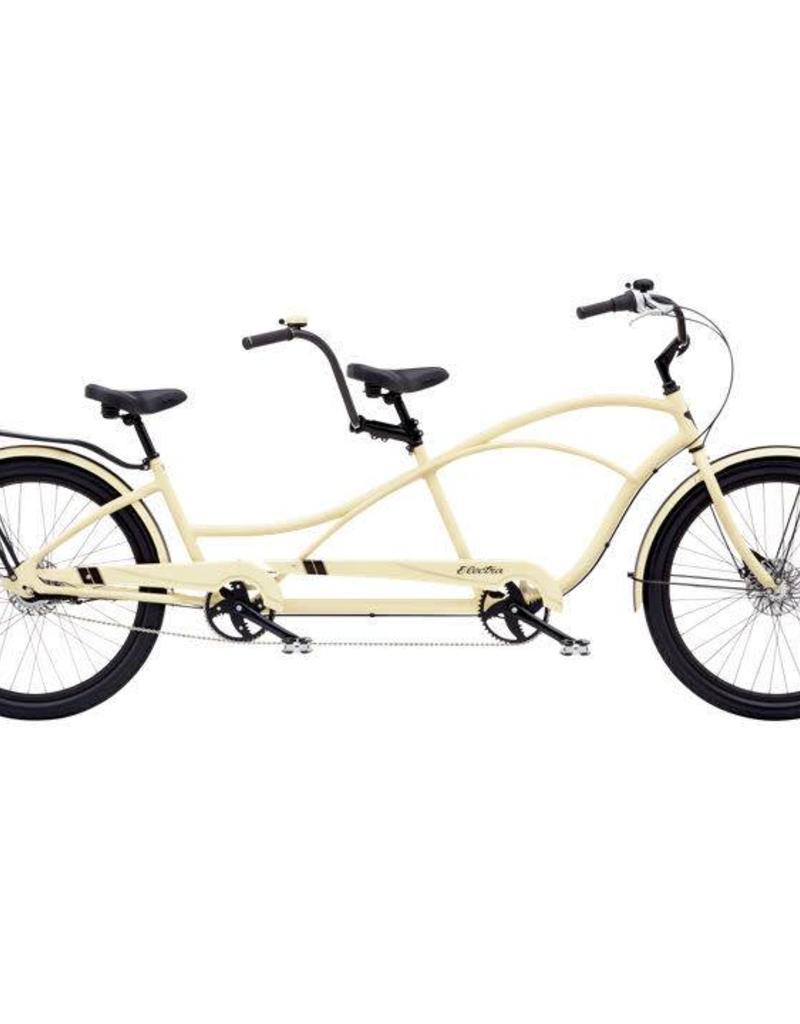 Electra Modern DLX Tandem 7i Matte Cream - 2019 Limited Edition