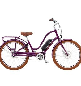 Electra Townie Go! 8i Fig Metallic Purple Step Thru - 2019