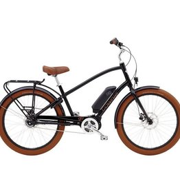 Electra Townie Go! 8i Black Step Over - 2019