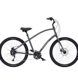 "Electra Townie Path 27D Matte Gun Metal - Mens 27.5""  - 2019"