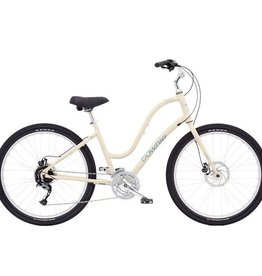"Electra Townie Path 27D Cream - Ladies 27.5"" - 2019"