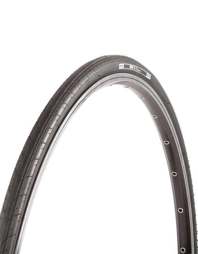 EVO, Dekko, Tire, 700x23C, Wire, Clincher, Black