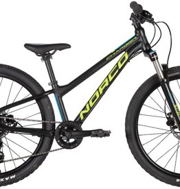 """Norco Charger 24"""" Black - 2019"""