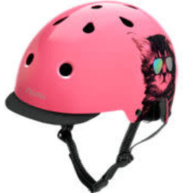 Electra Helmet Cool Cat Pink