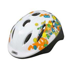Abus Helmet Smooty Smiley White