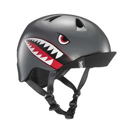 Bern Helmet Nino Satin Flying Tiger Grey