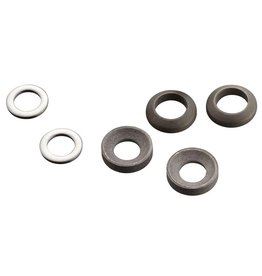 Avid, Pst Spacer Set, 20 S (Frnt 180/Rear 160), Includes Stainless Caliper Munting Blts (CPS & Standard)