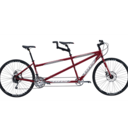 KHS Tandem Cross Dark Red - 2019