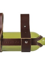 LEATHER WINE HOLDER BROWN