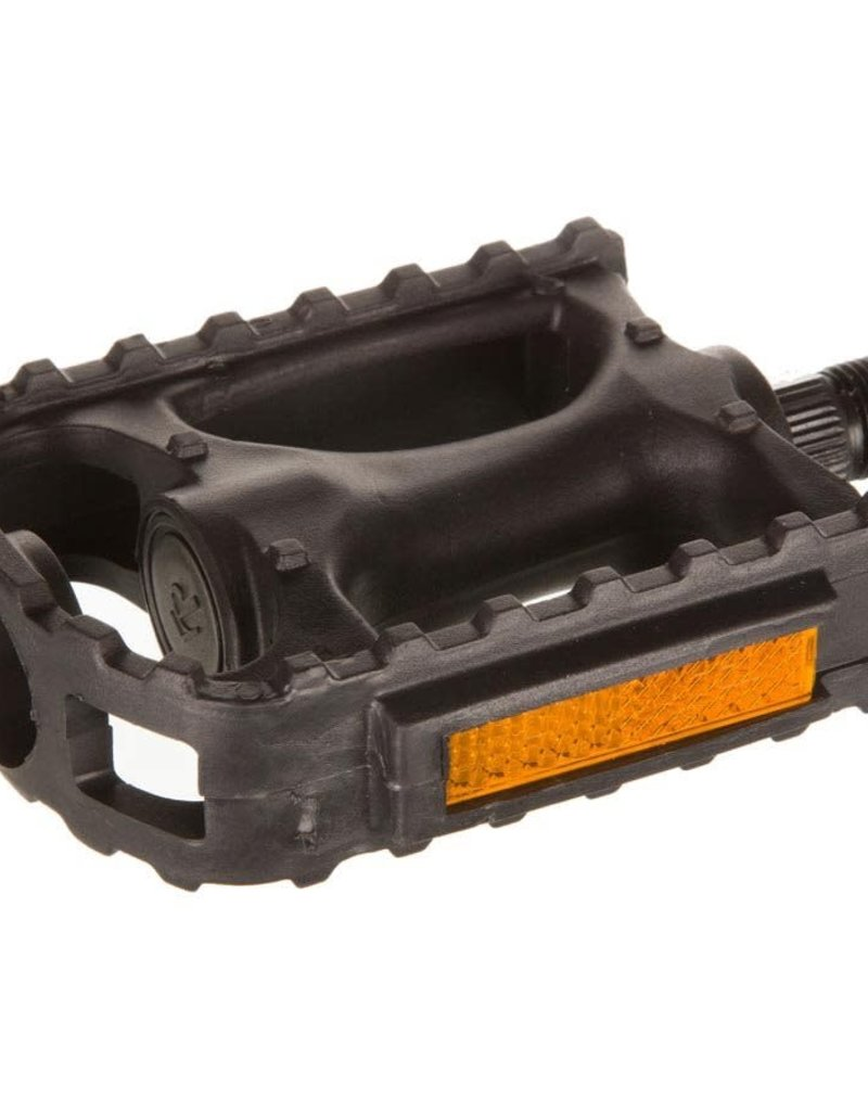 EVO, Swivel, Pedals, Body: Resin, Spindle: Steel, 9/16'', Black, Pair