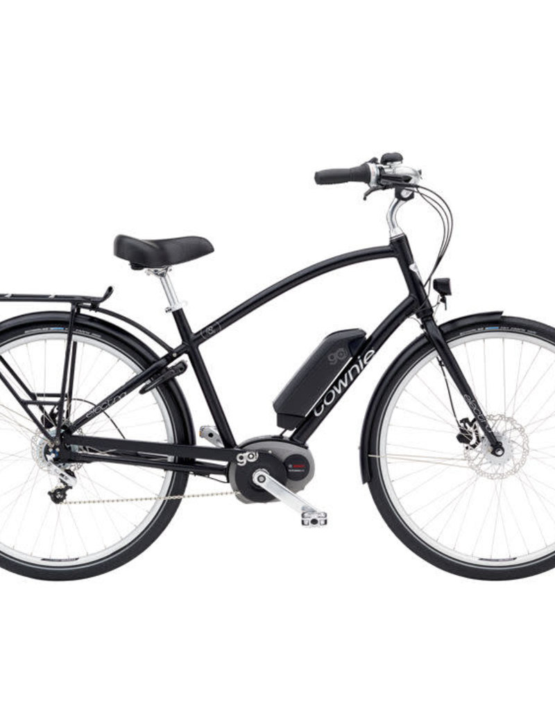 Electra Townie Commute Go! 8i Mens Black Satin - 2019