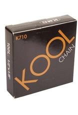 KMC, K-710 BMX Chain Silver And Black 1/2 X 1/8