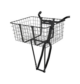 BASKET CRUISER BLACK 21in (l) x 15in (w) x 9in (h)