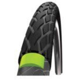 Schwalbe, Marathon, Tire 700x35C, Wire, Endurance, Clincher, GreeOnGuard, 67TPI, 58-87PSI, Black